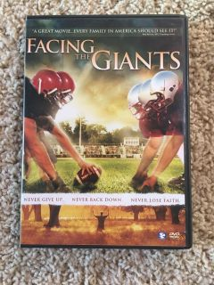 DVD Facing the Giants - good Christian movie