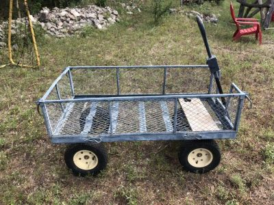 Large Garden Wagon. Well used but still works.
