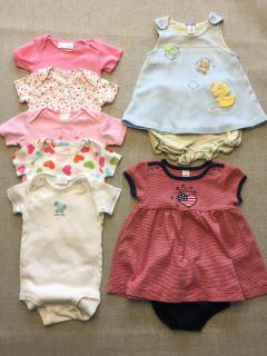 3-6 Months Infant Girl Clothes