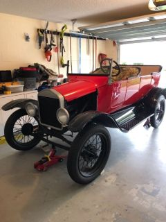 1916 Running Ford Model T Touring Roadster