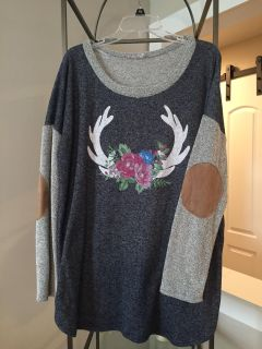 Boutique sweater size 1x