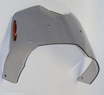 Purchase BMW F650GS F800GS Off Road Sports Windshield Shield Screen Grey MADE IN UK (PB) motorcycle in Ann Arbor, Michigan, United States, for US $89.95