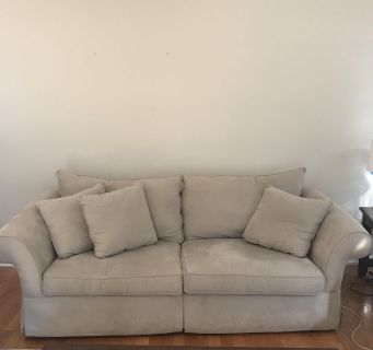 Couch and chair and a half