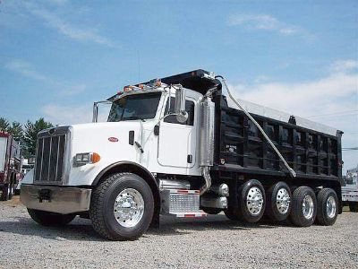 Dump truck loans - Damaged credit OK