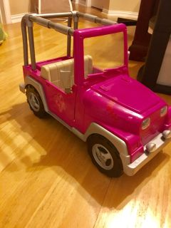 """Our Generation 4x4 Jeep for 18"""" American Style Dolls"""