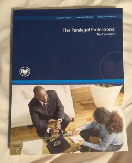 The Paralegal Professional: the Essentials Textbook