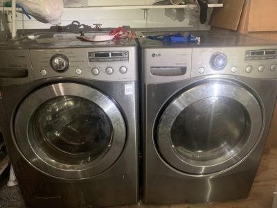 LG HE Front Load Washer and Dryer