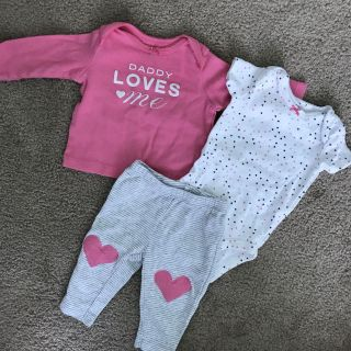Adorable baby girl outfit 0-3m