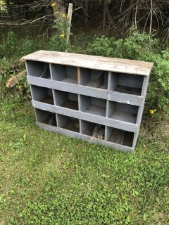 Chicken nesting boxes