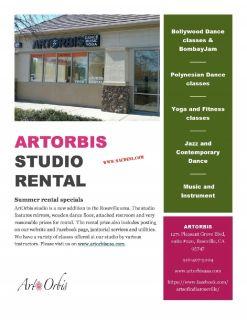 Arts OrBis Studio in Roseville in California.