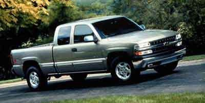 2000 Chevrolet Silverado 1500 LS (Light Pewter Metallic)