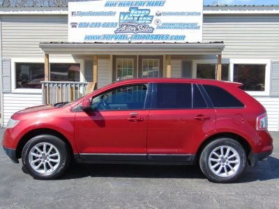 2007 Ford Edge SEL Plus (RED)