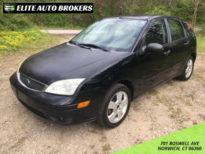 2007 Ford Focus ZX5 S (Pitch Black)