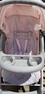 Pink and Gray Evenflo - Aura Stroller
