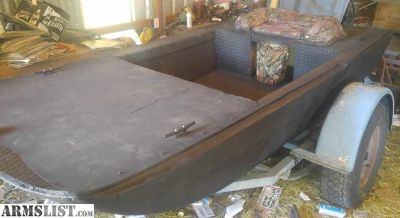 For Sale/Trade: New 5. X 10 flat bottom boat