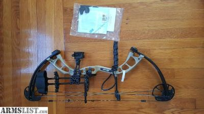 For Sale: Brand New Bear Archery Cruzer RTH Sand Compound Bow Package