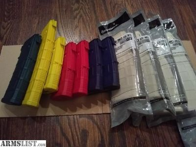 For Sale: AR-15 Magazines - Magpul Gen M3 PMAGs
