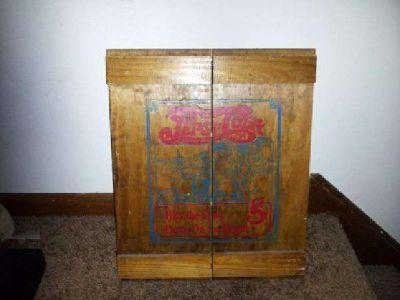 $45 Pepsi Cola -- Vintage Wooden Crate