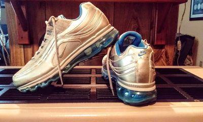 Nike Air Max 24/7 Blue & Silver