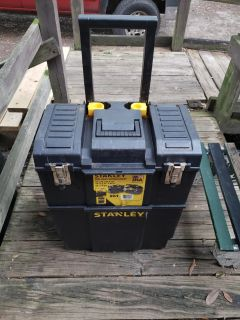 STANLEY 2 IN 1 TOOLBOX! Used!