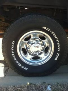 Ford F250 wheels  tires