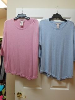 Loose fitting tops