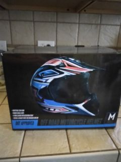 OFF ROAD MOTORCYCLE HELMET NEW