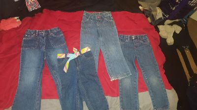 Size 4 girls jeans