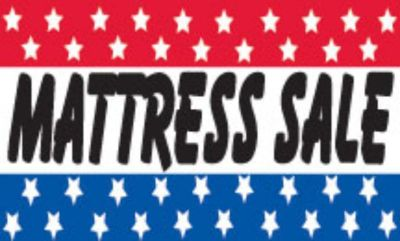 Purchase Mattress Sale Sign Stars Flag 3' X 5' Advertising Banner made USA Jns* motorcycle in Castle Rock, Washington, US, for US $12.99