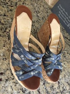 Christian l wedges size 37.5 fits 7