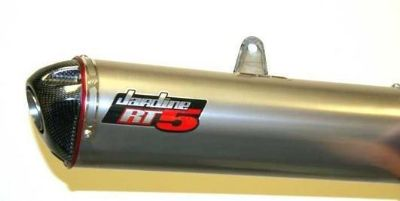 Purchase Jardine RT-5 Slip On Exhaust Titanium Yamaha YZF R1 07-08 motorcycle in Westerville, Ohio, US, for US $399.99