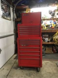 Red SnapOn tool chest -KRA 2055
