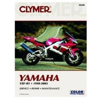 Purchase NEW YAMAHA SERVICE REPAIR MANUAL YZFR1 YZF-R1 YZF R1 1998 1999 2000 2001 2002 03 motorcycle in Ellington, Connecticut, United States, for US $37.95
