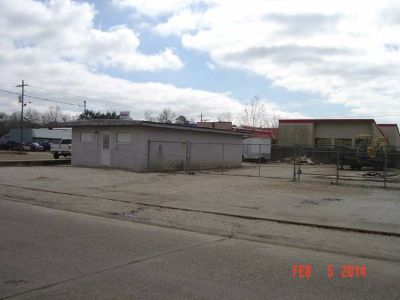 commercial lot and building for sale