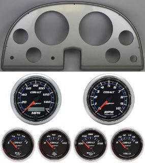 Buy 63-67 Corvette Silver Dash Carrier w/ Auto Meter Cobalt Gauges motorcycle in Carson City, Nevada, United States, for US $1,219.95