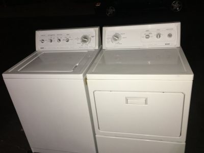 Kenmore Washer and dryer! Delivery available