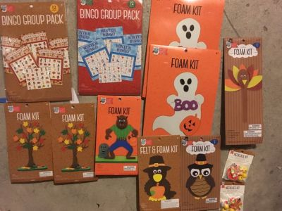 Kids Autumn Craft Kit Lot