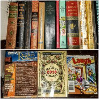 Miscellaneous Books, Cookbooks, Comics & More