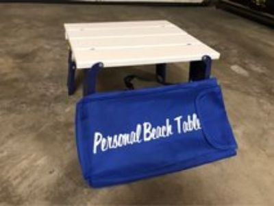 ****Collapsible beach/camping table