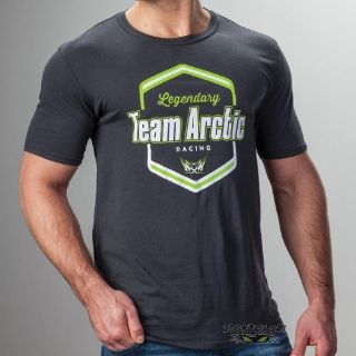 Sell Arctic Cat Men's Legendary Team Arctic Vintage Cotton T-Shirt - Black - 5279-33_ motorcycle in Sauk Centre, Minnesota, United States, for US $28.99