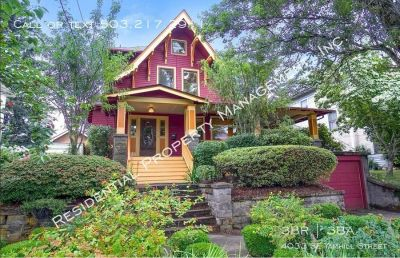 112 Year Old Laurelhurst Craftsman with Large Front Porch!