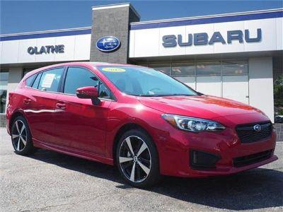 2018 Subaru Impreza (Lithium Red Pea)