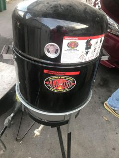 Brinkmann All-in-One grill & smoker