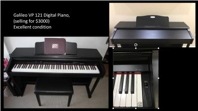 Galileo VP 121 Digital Piano