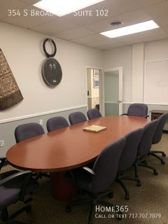 Huge Office Space, with additional office attached. Located in the downtown Millhill area of Trenton, NJ.