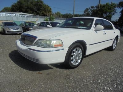 2008 Lincoln Town Car Signature Limited (WHITE)