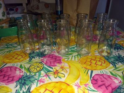 10 milk bottle drinking glasses