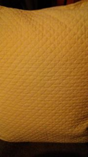 """Yellow throw pillow from Dillard's 20""""square"""