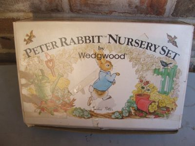 Beatrix Potter Peter Rabbit 4pc Nursery Set