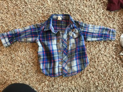 Old navy 6-12 mo flannel